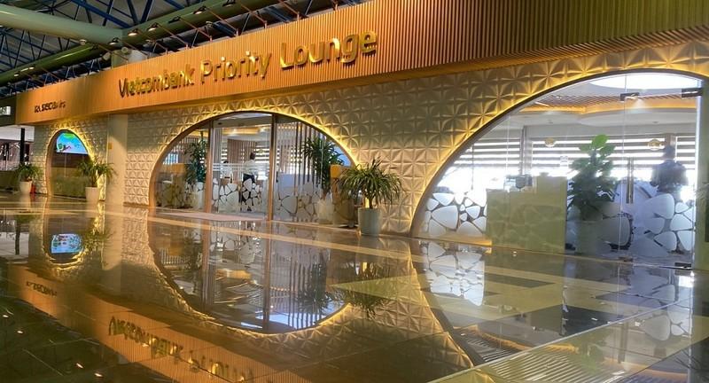 Khai trương phòng chờ Vietcombank Priority Lounge ở Sân bay quốc tế Nội Bài