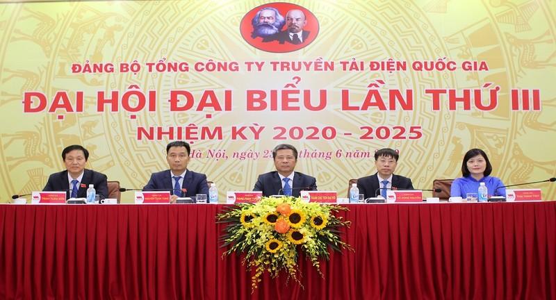 Đại hội Đảng bộ Tổng công ty Truyền tải điện Quốc gia:  Hướng đến mục tiêu Top đầu truyền tải điện Đông Nam Á