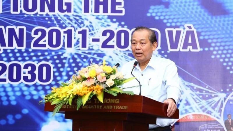 Phó Thủ tướng thường trực Trương Hòa Bình đánh giá cao những cải cách hành chính tại Bộ Công Thương.