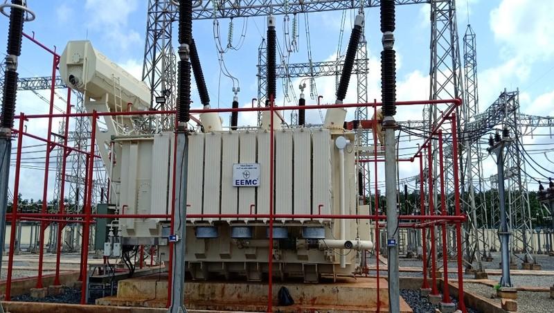 Trạm biến áp 220 kV Châu Đức vừa được đóng điện, chào mừng ngày Quốc khánh 2/9