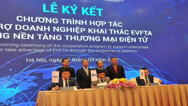 Sẽ xây dựng sàn thương mại điện tử để tận dụng EVFTA