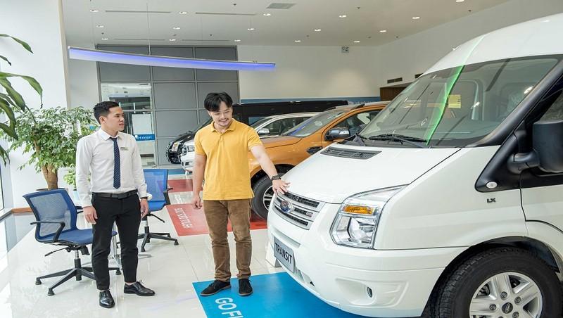 Ford Việt Nam tăng chế độ bảo hành cho dòng xe Transit