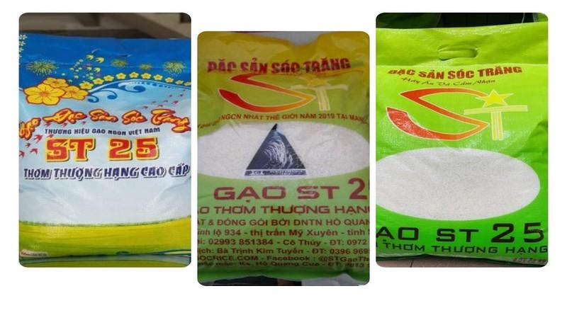 Không đơn vị nào có thể đăng ký độc quyền thương hiệu gạo ST25