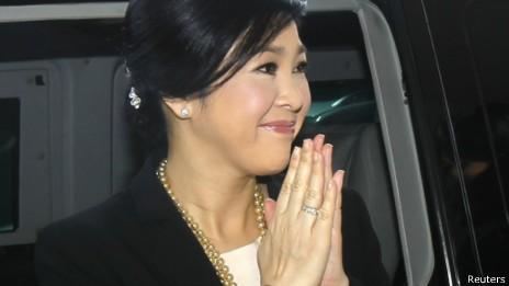 Bà Yingluck vượt qua cuộc bỏ phiếu bất tín nhiệm