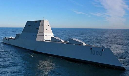 Tàu USS Zumwalt.