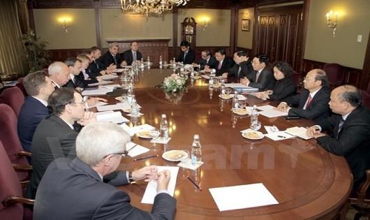 Việt Nam – Nga phấn đấu nâng kim ngạch thương mại song phương lên 10 tỷ USD