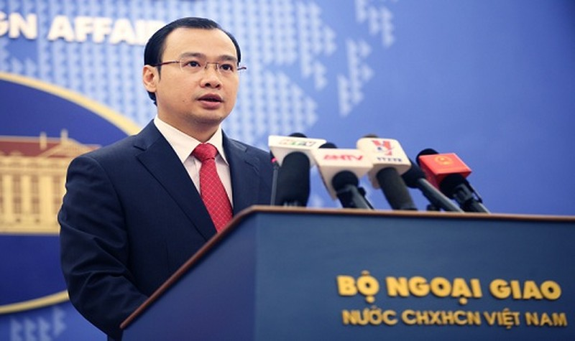 Người phát ngôn Bộ Ngoại giao Lê Hải Bình.