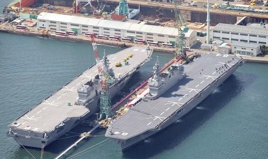 Tàu chiến lớn nhất của Nhật sẽ thăm Philippines