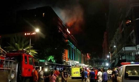 Tay súng phóng hỏa tại sòng bạc ở Philippnes, ít nhất 36 người thiệt mạng
