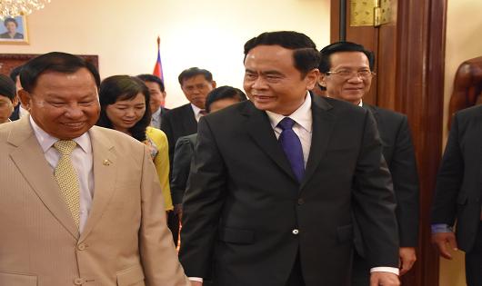 Quyền Quốc trưởng Campuchia cảm ơn nhân dân Việt Nam