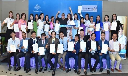52 học viên nhận học bổng Chính phủ Australia chuẩn bị lên đường du học