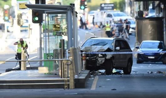 9 người nước ngoài bị thương trong vụ tông xe ở Australia