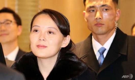 Bà Kim Yo Jong.