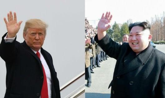 Ông Trump và ông Kim.