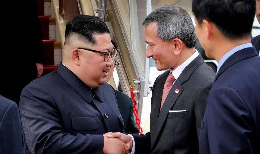 Bức ảnh do Ngoại trưởng Singapore Vivian Balakrishnan đăng tải.
