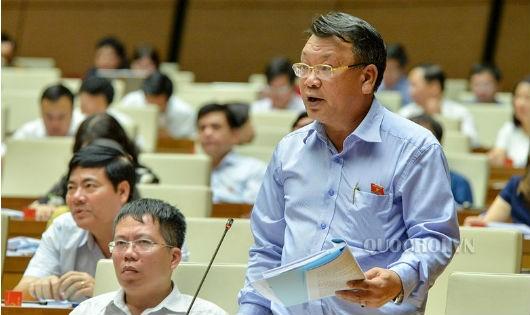ĐBQH Nguyễn Tạo (Đoàn Lâm Đồng) cho ý kiến tại phiên thảo luận.