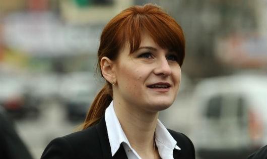 Bà Mariina Butina.