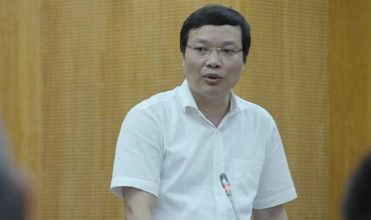 Ông Trương Hải Long - Vụ trưởng vụ Công chức, viên chức, Bộ Nội vụ.