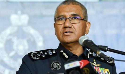 Tổng thanh tra cảnh sát Malaysia Mohamad Fuzi Harun.