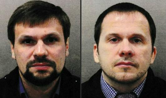 Anh cáo buộc 2 người này có liên quan đến vụ tấn công cựu điệp viên 2 mang người Nga.