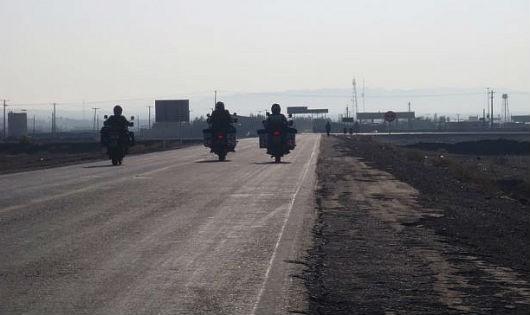 Biên giới Zahedan giữa Pakistan và tỉnh miền đông Iran của Baluchistan.
