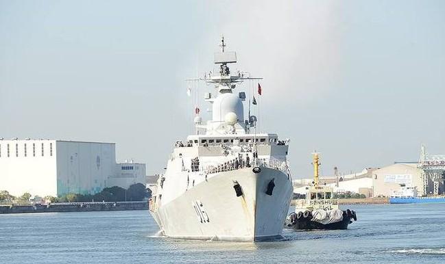 Việt Nam điều tàu hộ vệ tên lửa tham gia cuộc diễn tập ASEAN - Trung Quốc