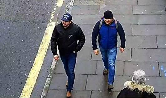 Hình ảnh mới nhất do cảnh sát Anh công bố.