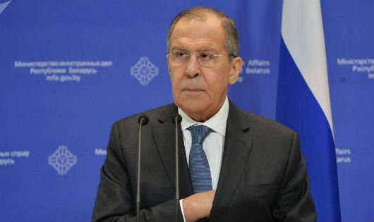 Ngoại trưởng Nga: 'Nga từ lâu không còn quan tâm đến việc trừng phạt'
