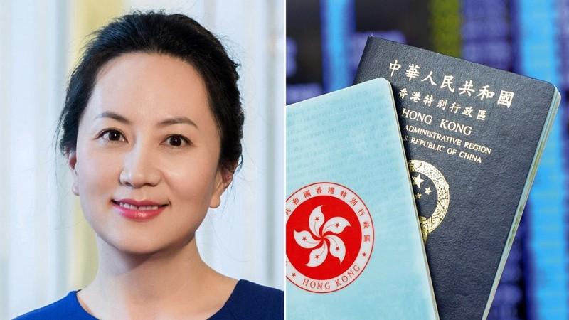 """""""Công chúa  Huawei"""" vừa bị bắt ở Canada có đến 8 cuốn hộ chiếu"""