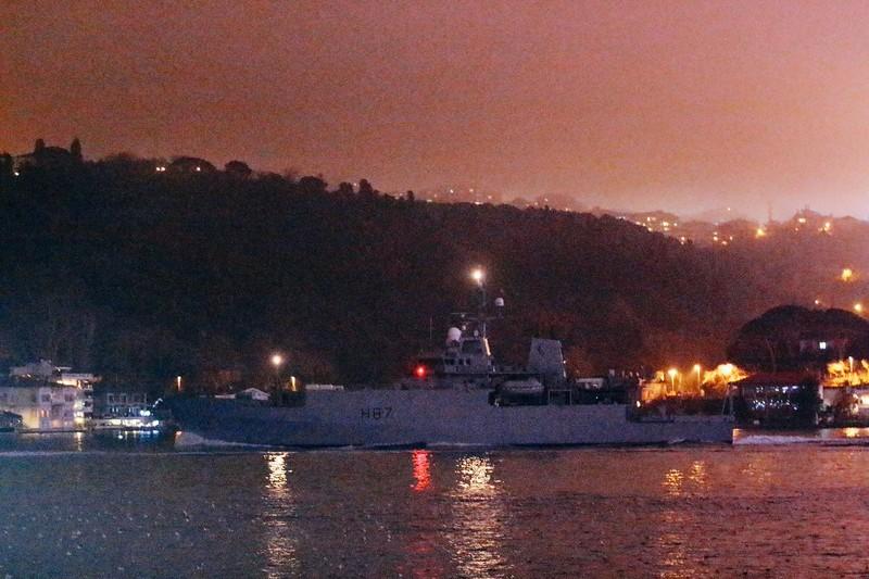 Tàu của Anh tại Odessa.
