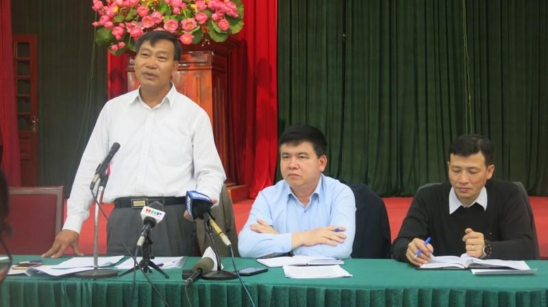 Ông Trần Ngọc Nam - Phó Giám đốc Sở Kế hoạch & Đầu tư TP Hà Nội thông tin tại hội nghị.