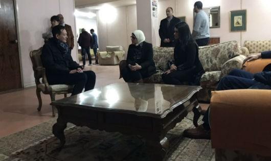 Người thân du khách Việt bị đánh bom khủng bố sang đến Ai Cập