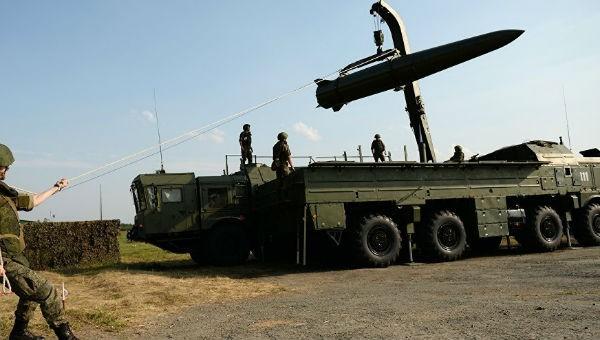 Hệ thống tên lửa Iskander-M của Nga.