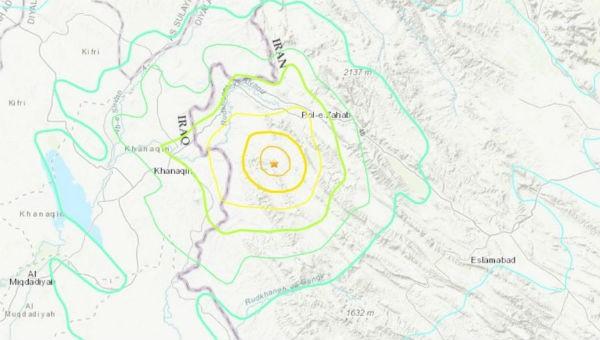 Động đất tại Iran, ít nhất 75 người bị thương