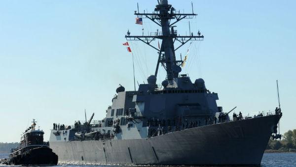Tàu khu trục mang được 56 tên lửa hành trình Tomahawk của Mỹ tiến vào biển Baltic