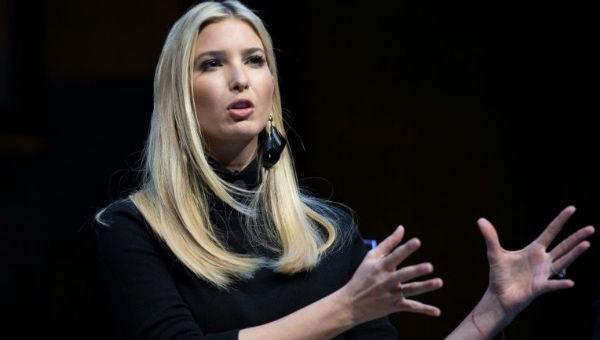 Cô Ivanka - con gái kiêm cố vấn của Tổng thống Mỹ Donald Trump.