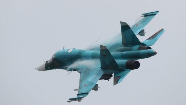 Hai máy bay ném bom Su-34 của Nga đâm nhau giữa không trung
