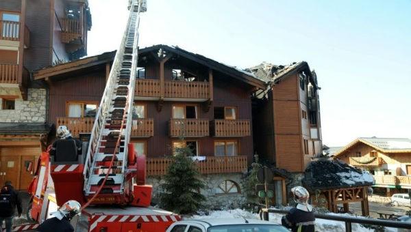 Nơi xảy ra vụ hỏa hoạn.