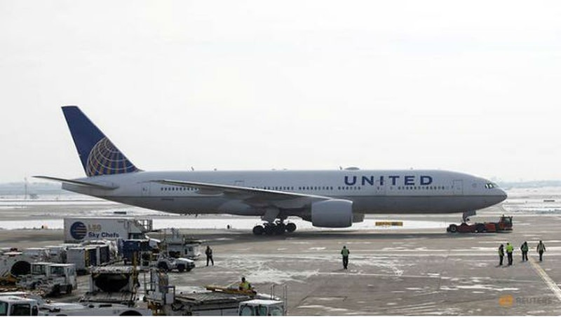 Một máy bay của United Airlines.