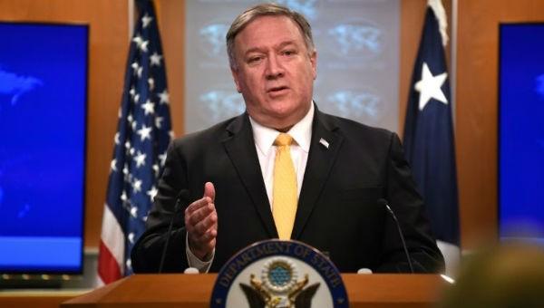 Ngoại trưởng Mỹ Pompeo thông báo quyết định rút khỏi INF của Mỹ.