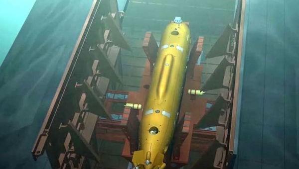 Ngư lôi đa dụng Poseidon của Nga.