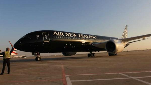 Máy bay của hãng hàng không Air New Zealand.
