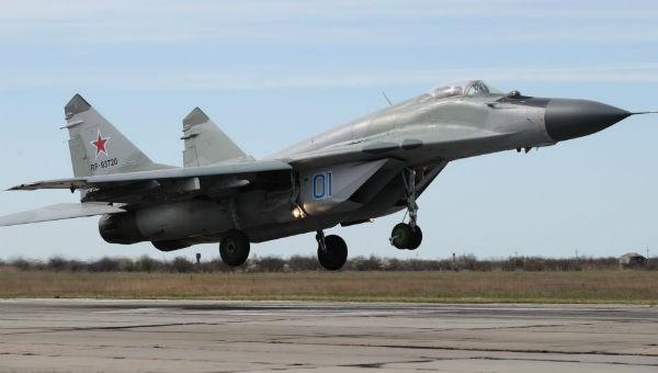 Máy bay MiG-29 của Nga.