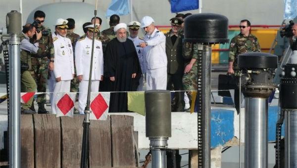 Tổng thống Iran Hassan Rouhani đã chủ trì buổi lễ.