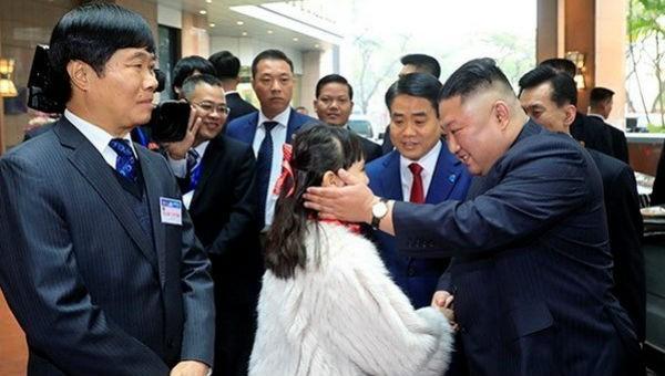 Chủ tịch Triều Tiên Kim Jong Un đã đến Việt Nam. Ảnh: TTXVN