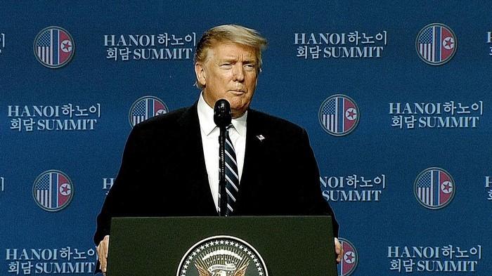 Nhà Trắng xác nhận Thượng đỉnh Mỹ - Triều không đạt được thỏa thuận