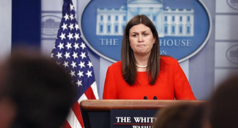 Người phát ngôn Nhà Trắng Sarah Sanders