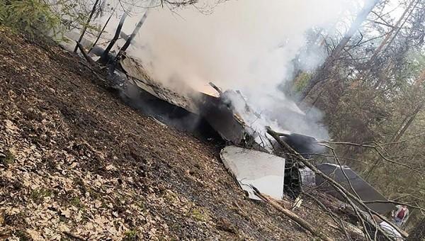 Máy bay MiG-29 bị rơi ở Ba Lan