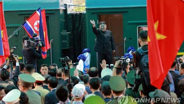 Ông Kim rời Việt Nam hôm 2/3.