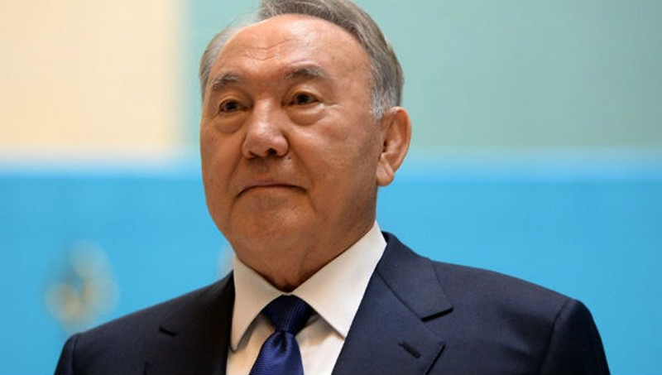 Cựu Tổng thống Kazakhstan Nursultan Nazarbayev.